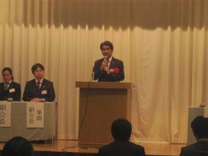中野市長が公務でお忙しい中、駆けつけてくださいました。中野市長! ありがとうございました!!