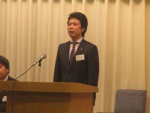 平野会長より今年度の事業方針およびスローガンが発表されました。